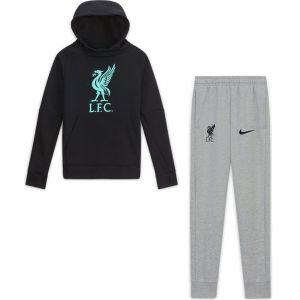 Nike Liverpool Fleece Trainingspak Kids