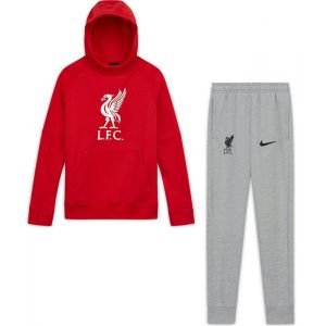 Nike Liverpool Fleece Trainingspak Kids II